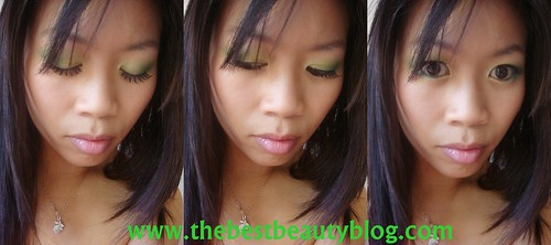 Face of the Day, Gold & Green