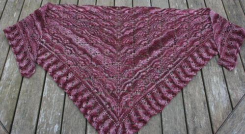 Honey Pot Shawl by littleknitmissy on ravelry