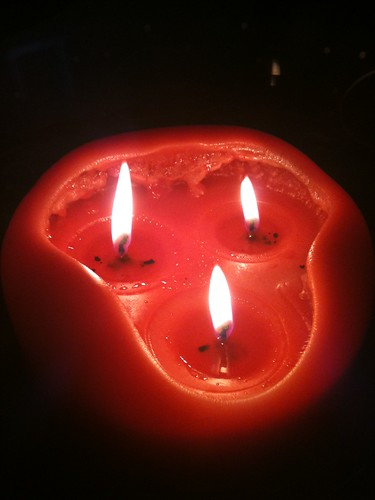 Candles for Earth Hour
