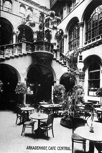 Cafe Central, Vienna, Austria, 1905