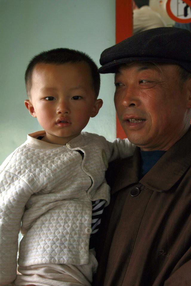 granpa and grandson