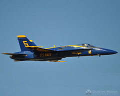 Passing By (DustinWeberPhotography) Tags: show blue st plane scott louis illinois force military belleville air united navy jet angels states usaf blueangels base