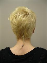 Kelley AFTER (dAs_spooky) Tags: haircut cute pixie blonde shorthair rattail