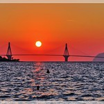 The sun and the bridge
