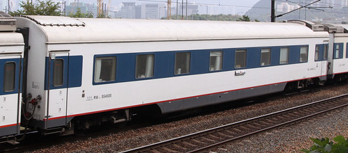 China Railways carriage RW19T 554605