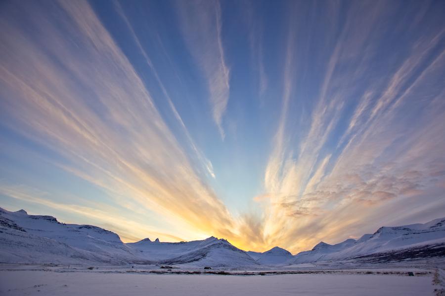 Evening in Fáskrúðsfjörður