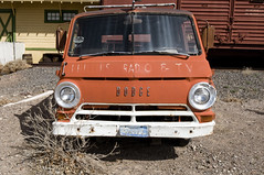 Dodge Van 2 (Curtis Gregory Perry) Tags: clark county historical museum las vegas nevada nikon d300 automóvil coche carro vehículo مركبة veículo fahrzeug automobil