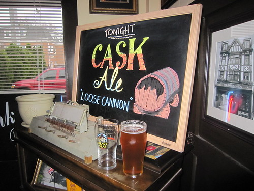 Public House No. 7 has cask ale! (01)