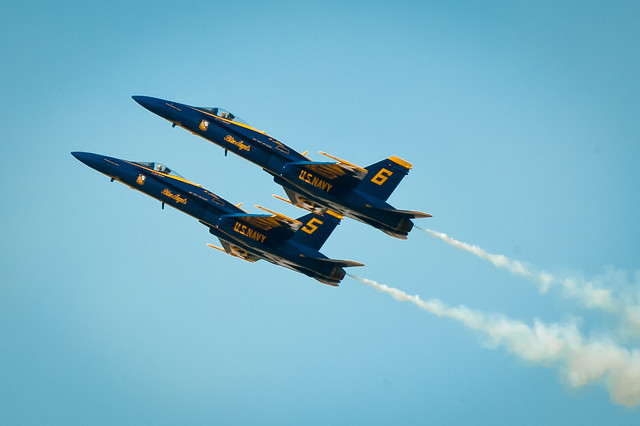 Blue Angels - Slow Pass