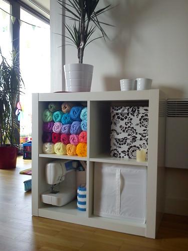 Yarn storage!