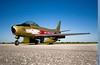 Hawk One (~Clubber~) Tags: canada vintage airplane golden aircraft aviation flight jet sabre static restoration warbird interceptor rcaf goldenhawks f86 hawkone