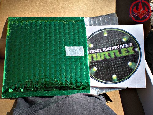 "Nickelodeon TMNT Fan Preview; ""FOUR BROTHERS PIZZA"" - Consolation Pizza Box v (( 2011 ))"