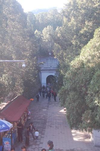 Ausgang der Ming Grabanlage ding ling