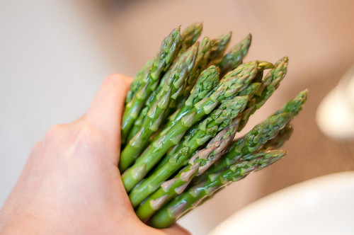 asparagus (don't forget to close the door when you pee)