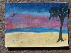 Tropical Paradise Watercolor