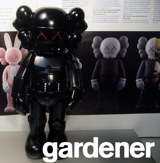 KAWS Stormtrooper Black, Silver, Copper
