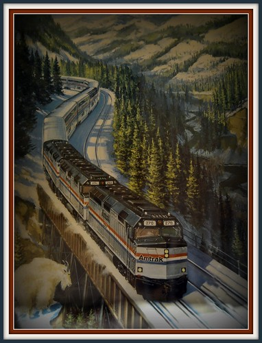 travel train amtrak empirebuilder eastglacierpark