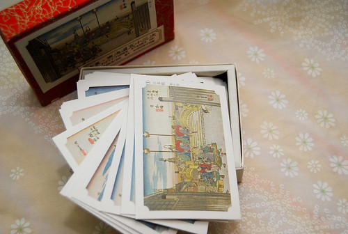 Tokaido prints cards