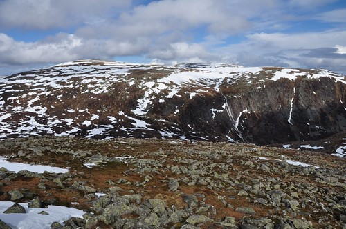 Lochnagar and Eagles Rock