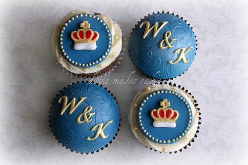 5602406949 d4909b16f4 Royal Wedding, British Cupcakes for Prince William and Kate Middleton   Or the Queens Jubilee!