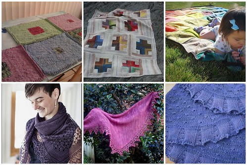 Knitspiration April 2011: Things to wrap yourself in