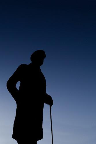 Silhouette Winston Churchill