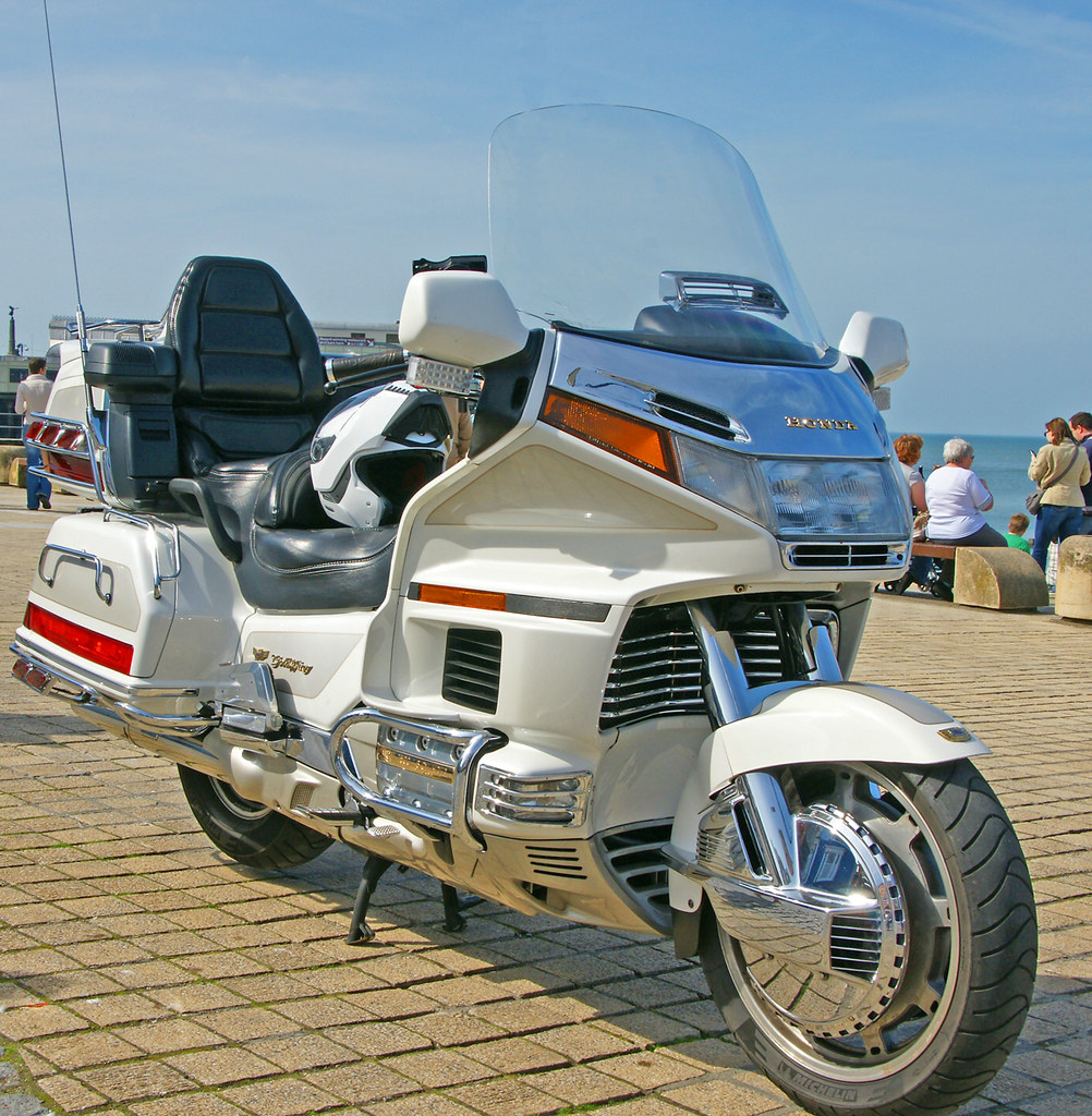 Honda Gold Wing motorbike
