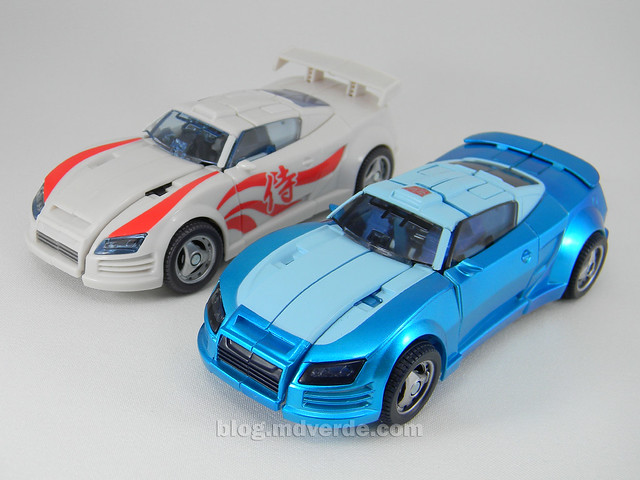 Transformers Blurr United Deluxe - modo alterno vs Drift