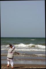 un sasso nel mare (Bracco78) Tags: mare veronica sasso