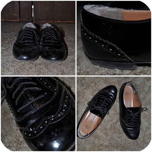 1:2 Black Oxfords