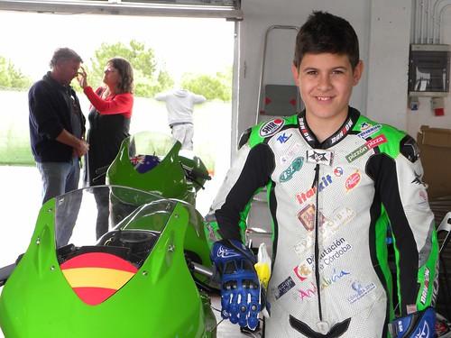 Miguel Aranda-European Junior Cup