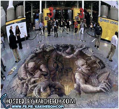 Kurt Wenner Street Illusions1