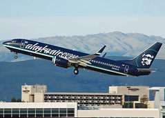 Alaska Airlines N548AS (Rich Snyder--Jetarazzi Photography) Tags: california ca alaska plane airplane aircraft jet sanjose sjc boeing asa departure takingoff takeoff airliner 737 departing alaskaairlines jetliner b737 737800 b738 ksjc alaskaaircom as speciallivery n548as 737890 b73h specialscheme