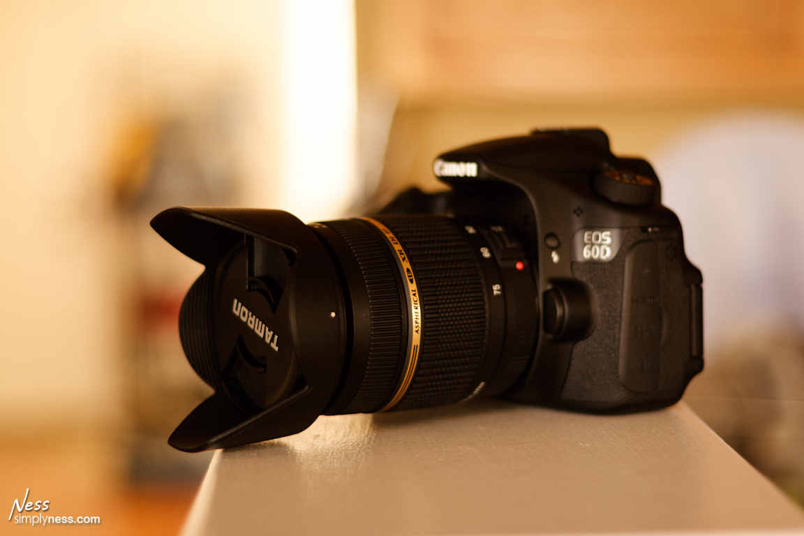 Tamron AF 28-75mm F/2.8 On a EOS 60D