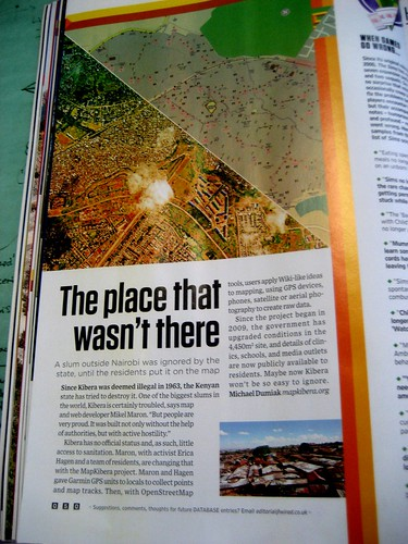 MapKibera in wired uk magazine