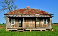 Abandoned Farm House (photographyguy) Tags: louisiana farmhouse abandoned tinroof rusted rural