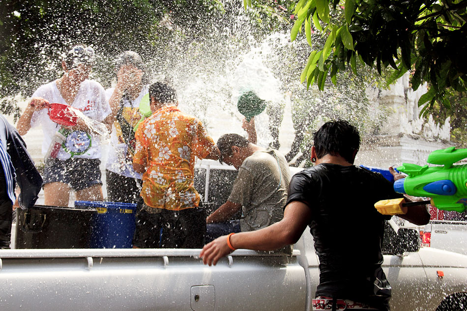 Travel Photos: The Songkran Water Festival in Chiang Mai, Thailand