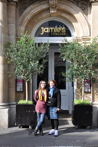 Outside Jamie's Italian