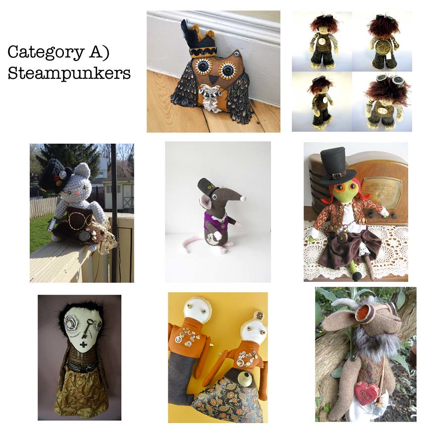 Category A) Steampunkers