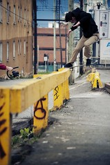 Rory Fulber - Fs Noseslide (m.tones) Tags: