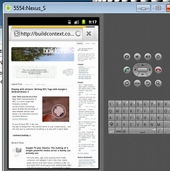 Android Browser Emulator - Windows 7, Nexus S, Xoom Tablet