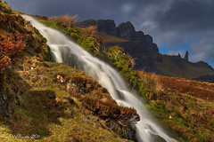 Storr Falls (Shuggie!!) Tags: longexposure skye water landscape scotland williams waterfalls karl hdr oldmanofstorr storr karlwilliams