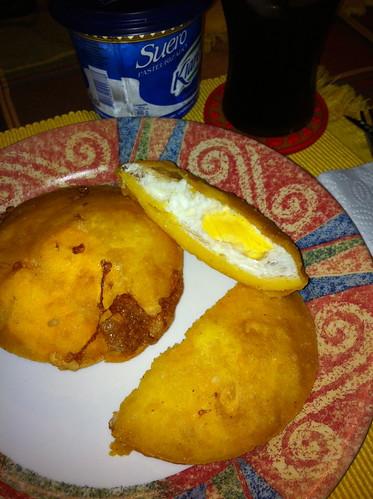 Arepa e' Huevo @ La Comida de mi Casa