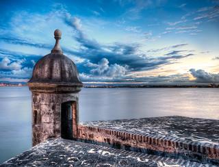 La Garita del Morro - (HDR Viejo (old) San Juan, Puerto Rico)