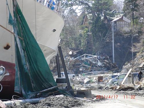 Miyagi Prefecture, Japan, after the earthquake