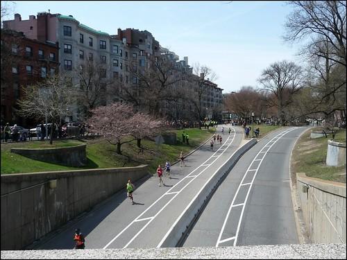 boston marathon route 2011 map. oston marathon course map