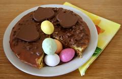Easter cake (larigan.) Tags: easter desserts torte eastereggs dajm larigan phamilton seasonaldesserts melkehjerter gettyimageswants gettywants