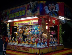 Sydney Royal Easter Show: amusements  13 (dominotic) Tags: carnival animals night rural play farm sydney australia games nsw newsouthwales rides produce agriculture prizes ras amusements sideshow homebush theshow artsandcrafts eastershow sydneyroyaleastershow lifestock agriculturalshow sideshowalley winaprize citymeetscountry laughingclowns producedisplay