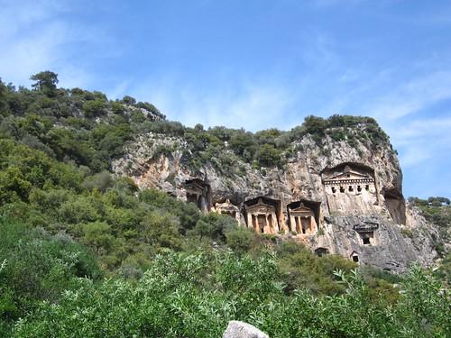 Kings tombs, Dalyan