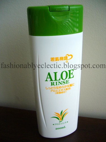 Tokuya Aloe conditioner